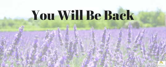 You Will Be Back